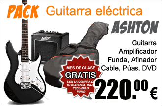 Pack Guitarra Eléctrica Ashton