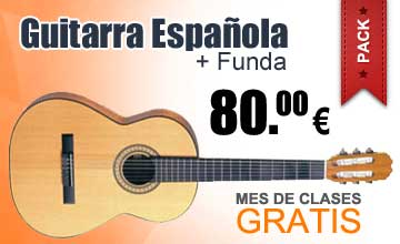 Pack Guitarra Espaola